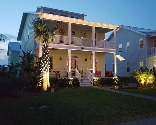 Beach Style Outdoor Flood And Security Lights Home Design, Photos & Decor Ideas