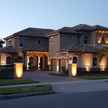 Orlando Beach Home Lighting