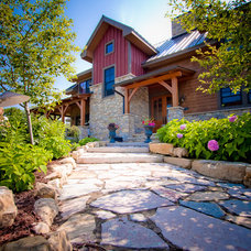 Traditional Exterior by Renae Keller Interior Design, Inc.