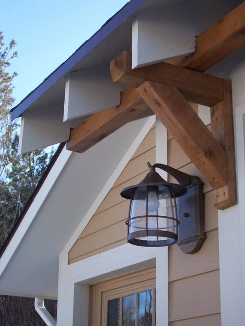 Exterior Rafter Tails : Rafter tails and brackets home design ideas pictures