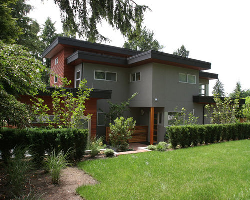 grey stucco houzz
