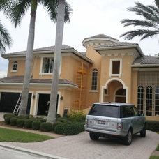 Mediterranean Exterior by Ralston Painting Company