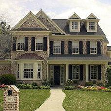 Transitional Exterior by John Dean Custom Homes
