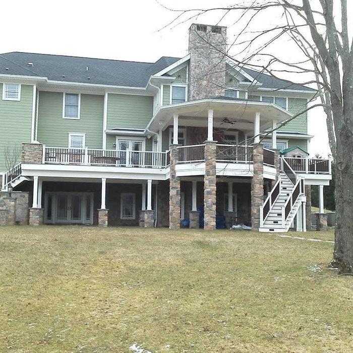 Far Hills NJ Deck Build