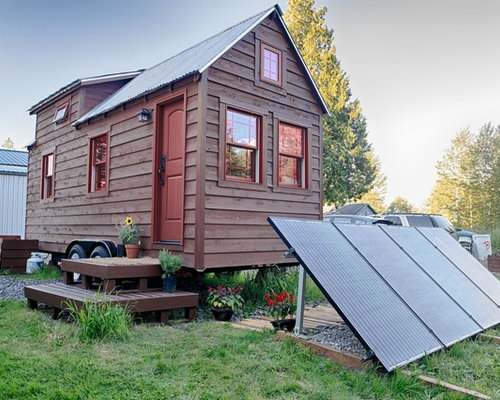 Tiny House Design Ideas tiny house kitchen designs exif_jpeg_picture Photo Of A Small Rustic Exterior In Seattle Saveemail The Tiny Tack House