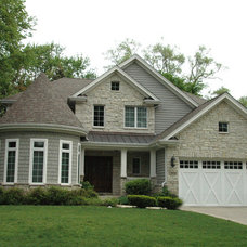 Traditional Exterior by Greenview Builders and Cabinetry Designers, Inc.