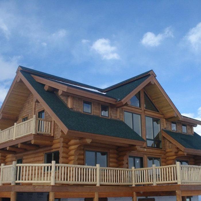 Red Creek | Scandanavian Fullscribe Log Home