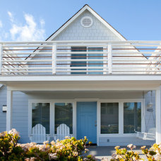 Beach Style Exterior by O'Shea Construction