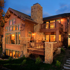 Traditional Exterior by Dann Coffey Photography