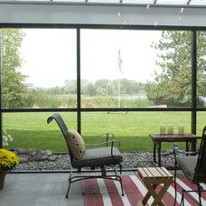 Traditional Exterior by Samantha Grose, Designer