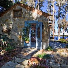 Eclectic Exterior by Schatz Landscape Design