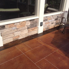Traditional Patio by New Castle Properties