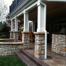 Traditional Exterior by RL ROGERS CONSTRUCTION