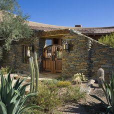 Southwestern Exterior by Bess Jones Interiors