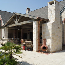 Traditional Exterior by DFW Creative Homes & Renovation
