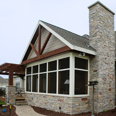 Traditional Exterior by Gryboski Builders Inc.
