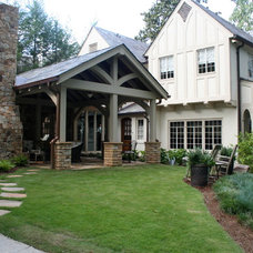 Traditional Exterior by The Consulting House Inc.