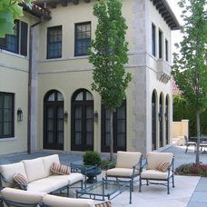 Mediterranean Exterior by COOK ARCHITECTURAL Design Studio