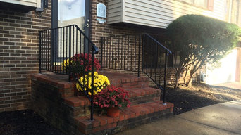 Outdoor Railing and Gate Ironwork
