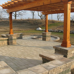 exterior by Treasured Earth Landscaping