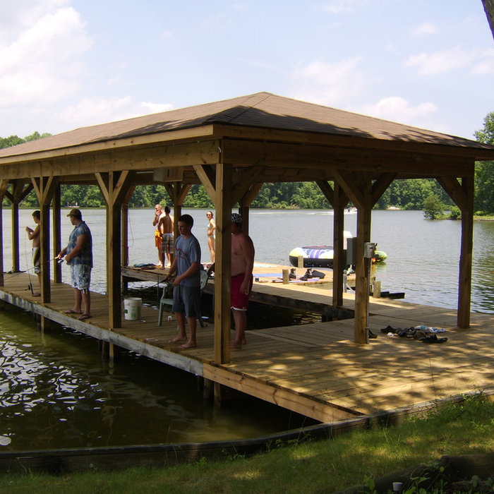 Outdoor Spaces-Decks,Boat Docks | Lake Anna, VA