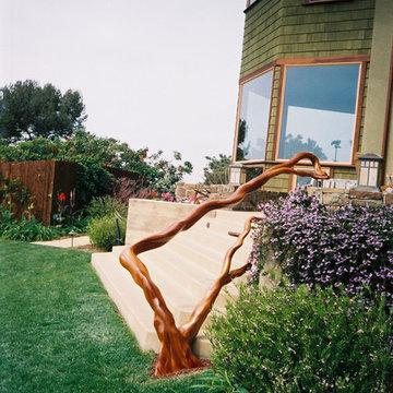 Outdoor Stair Rail