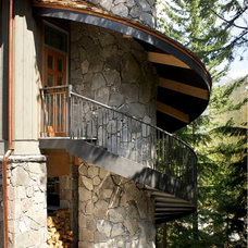 Traditional Exterior by CR Design and Build