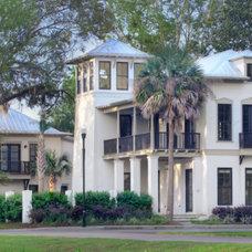 Contemporary Exterior by WaterMark Coastal Homes, LLC