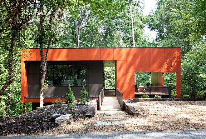 Modern Exterior by Cablik Enterprises