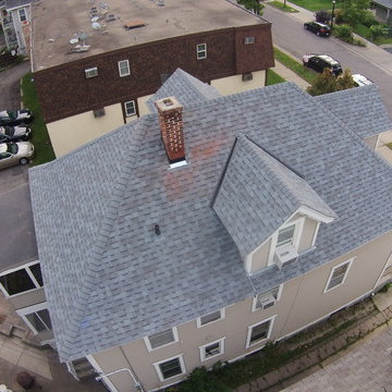 """Owens Corning """"Estate Gray"""" Color roof in Minneapolis, MN"""