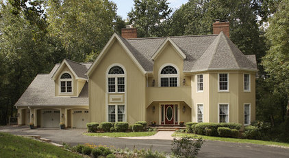 Traditional Exterior by Owings Brothers Contracting
