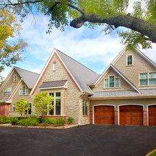 Traditional Exterior by GETAdesign, LLC