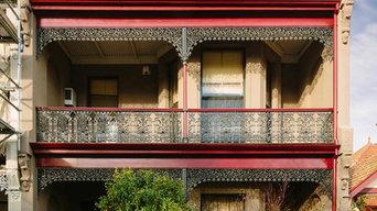 'Oxford' Terrace @ Oxford-Cambridge Row, Parkville