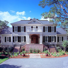 Traditional Exterior by Marshall M. Driver Architect