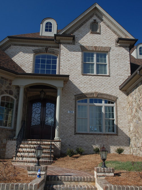 Oyster Pearl Oversize Tumbled Face Brick