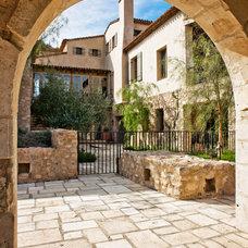 Mediterranean Exterior by Don Ziebell