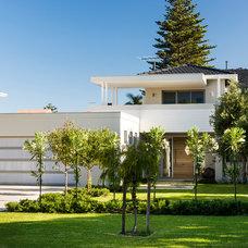 Contemporary Exterior by Liz Prater Design Home