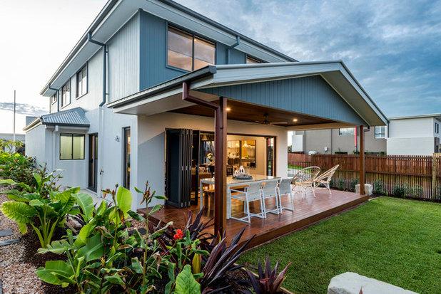 Contemporary Exterior by Indigo Homes