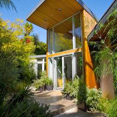 Contemporary Exterior by Scrafano Architects