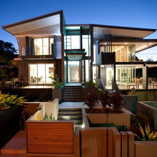 Contemporary Exterior by Utopia Landscape Design