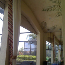 Tropical Exterior by McDougall Interiors