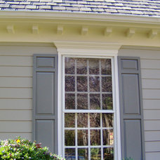 Traditional Exterior by The Painted Room