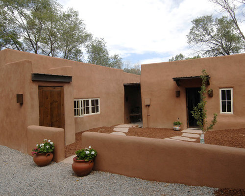 Adobe houses home design ideas pictures remodel and decor for Southwestern home plans