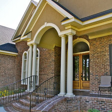 Traditional Exterior by Jim Williams Construction Co Inc