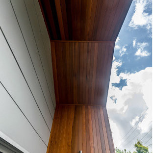 Inspiration for a modern exterior home remodel in Brisbane