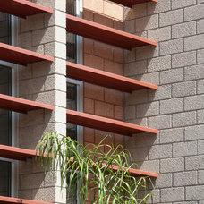 Contemporary Exterior by Baldinger Studio