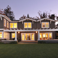 Craftsman Exterior by FGY Architects
