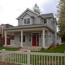 Farmhouse Exterior by Lorin Hill, Architect
