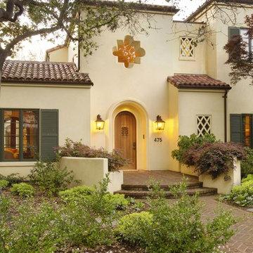 Palo Alto Mediterranean Custom Home
