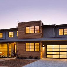 Modern Exterior by James Witt Homes